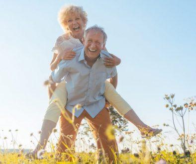 senior en bonne santé